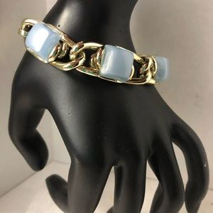 Vintage headset link bracelet